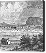 Pittsburgh, 1790 Canvas Print by Granger