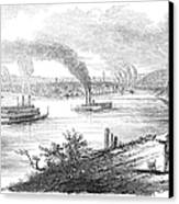 Pittsburgh, 1853 Canvas Print by Granger