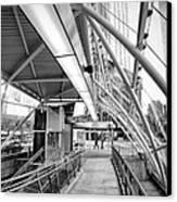 Pittsburgh Lines 2 Canvas Print by Emmanuel Panagiotakis