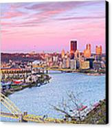 Pittsburgh Spring 2012 Canvas Print by Emmanuel Panagiotakis