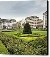 Place Des Martyrs, Luxembourg City, Luxembourg, Europe Canvas Print by Jon Boyes