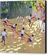 Playground Sri Lanka Canvas Print by Andrew Macara
