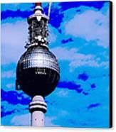 Pop Art Berlin Canvas Print by Falko Follert