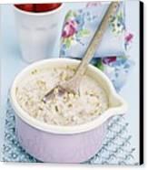 Porridge In A Pan Canvas Print by Veronique Leplat