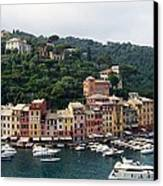 Portofino Dreaming Canvas Print by Marilyn Dunlap