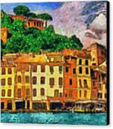 Portofino II Canvas Print by George Rossidis