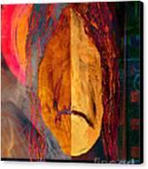 Portrait Of A Man 2 Canvas Print by Emilio Lovisa