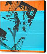 Post Card From La Canvas Print by Naxart Studio