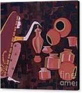 Potter Canvas Print by Vilas Malankar
