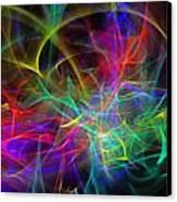 Power Of The Climax 4 Canvas Print by Cyryn Fyrcyd
