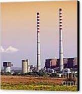 Power Plant Canvas Print by Carlos Caetano