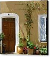 Provence Door 3 Canvas Print by Lainie Wrightson