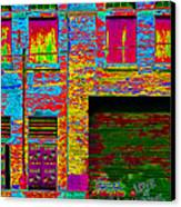 Psychadelic Architecture Canvas Print by Andrew Fare