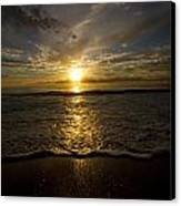 Puerto Rican Sunset II Canvas Print by Tim Fitzwater