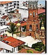 Puerto Vallarta Canvas Print by Elena Elisseeva