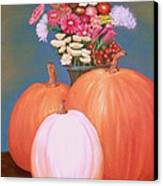 Pumpkin Canvas Print by Amity Traylor