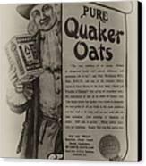 Pure Quaker Oates Canvas Print by Bill Cannon