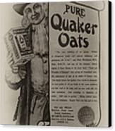 Pure Quaker Oates Canvas Print by Bill Cannon