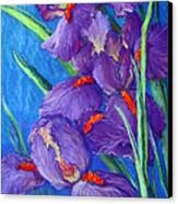 Purple Passion Canvas Print by Tanja Ware