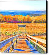 Queen Wilhelmina State Park Canvas Print by Douglas Barnard