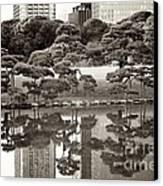 Quiet Moment In Tokyo Canvas Print by Carol Groenen
