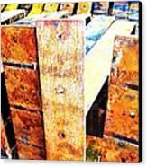 Rainbow Rust Canvas Print by Todd Sherlock