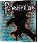 Ravenclaw Eagle Canvas Print by Jera Sky