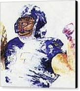 Ray Rice Canvas Print by Ash Hussein