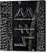 Reading Stones Canvas Print by Odd Jeppesen
