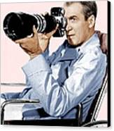 Rear Window, James Stewart, 1954 Canvas Print by Everett