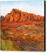 Red Cliffs Canvas Print by Jack Skinner