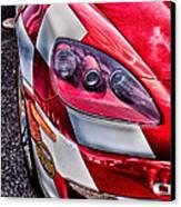 Red Corvette Canvas Print by Lauri Novak