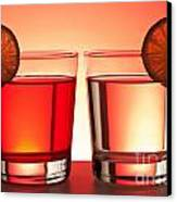 Red Drinks Canvas Print by Blink Images