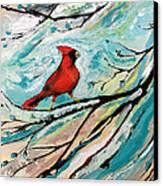 Red Fury Canvas Print by Cynara Shelton