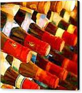 Red Or White Canvas Print by Elaine Plesser