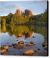 Red Rock Crossing Arizona Canvas Print by Tim Fitzharris