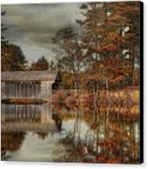 Reflections Of Autumn Canvas Print by Robin-lee Vieira