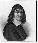 Rene Descartes, French Polymath Canvas Print by Science Source