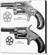 Revolvers, 19th Century Canvas Print by Granger