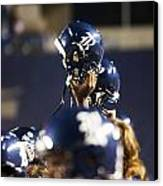Rice Football Helmets  Canvas Print by Anthony Vasser