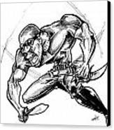 Riddick Canvas Print by Big Mike Roate