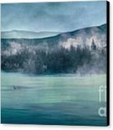 River Song Canvas Print by Priska Wettstein