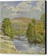River Spey - Kinrara Canvas Print by Tim Scott Bolton