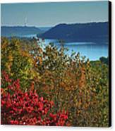 River View V Canvas Print by Steven Ainsworth