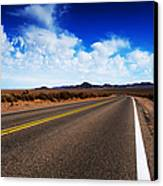 Road Through Rural Area Canvas Print by Jacobs Stock Photography