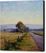 Road To Richmond Canvas Print by Graham Gercken