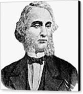 Robert Purvis (1810-1898) Canvas Print by Granger