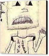 Robot Canvas Print by Odon Czintos
