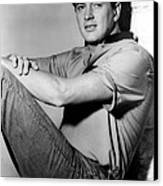 Rock Hudson, C. Mid 1950s Canvas Print by Everett