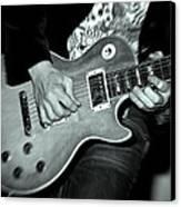 Rock On Canvas Print by Kamil Swiatek